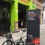 Triciclo electrificado y personalizado para empresa de eventos